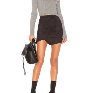 BY THE WAY x Revolve Saira Suede Mini Skirt